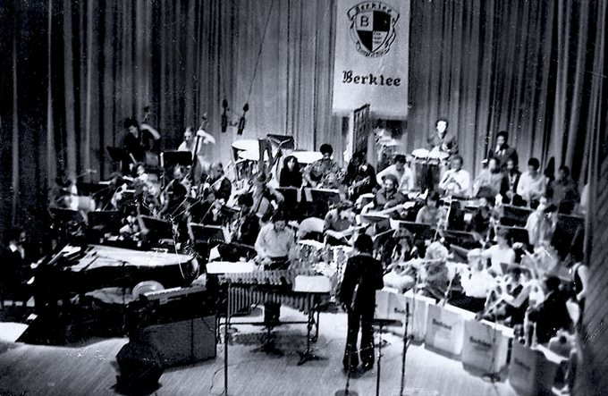 The Back Bay Orchestra featuring Lloyd Wilson in 1981